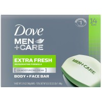 Dove Men+Care Body and Face Bar Extra Fresh - 3.75 oz. (14 Count)