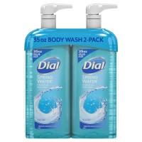 Dial Body Wash, Spring Water - 35 fl. oz. (Pack of 2)
