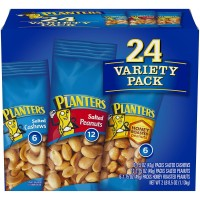 Planters Snack Nuts Variety Pack - 1.75 oz. Pouches (24 Count)