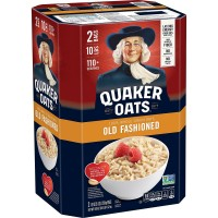 Quaker Old Fashioned Oats - 5 lb. (Pack of 2)