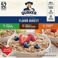 Quaker Instant Oatmeal Variety Pack (52 Count)