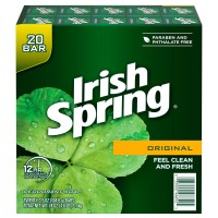 Irish Spring Original Deodorant Soap - 3.7 oz (20 Count)