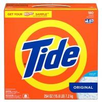 Tide HE Ultra, 180 loads Powder Laundry Detergent - 254 Oz