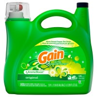 Gain + AromaBoost Ultra Concentrated 146 loads Liquid Laundry Detergent, Original - 200 Oz