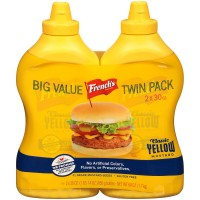 French's 100% Natural Classic Yellow Mustard - 30 oz. (Pack of 2)