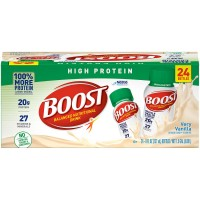 BOOST High Protein Nutritional Drink, Vanilla - 8 fl.oz. (Case of 24)
