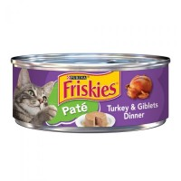 Purina Friskies Pate Turkey & Giblets Dinner Wet Cat Food - 5.5 oz.