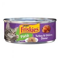 Purina Friskies Pate Turkey & Giblets Dinner Wet Cat Food - 5.5 oz.