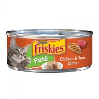 Purina Friskies Pate Chicken & Tuna Dinner Wet Cat Food - 5.5 oz.
