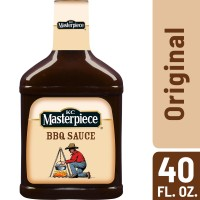 KC Masterpiece Barbecue Sauce, Original - 40 oz.