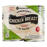 Member's Mark Premium Chunk Chicken Breast - 12.5 oz (Case of 6)