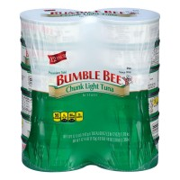 Bumble Bee Chunk Light Tuna in Water - 5 oz can (Pack of 12)