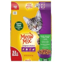 Meow Mix Original Choice Dry Cat Food, Heart Health & Oral Care Formula - 32 Lbs.