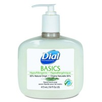 Dial Basics Hypoallergenic Liquid Soap - 16 oz (Case of 12)