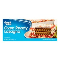 Great Value Oven Ready Lasagna - 12 oz (Pack of 4)