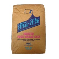 Tru-Flo® Iodized Food Grade Salt - 50 Lbs.
