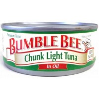 Bumble Bee Chunk Light Tuna in Oil - 5 oz can (Case of 48)