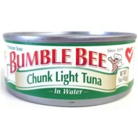 Bumble Bee Chunk Light Tuna in Water - 5 oz can