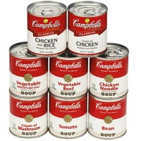Campbell's Ready To Serve Easy Open Chicken With Rice Soup - 7.25 oz (Case of 24)
