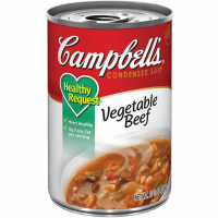 Campbell's Vegetable Beef Soup - 10.5 oz (Case of 48)