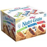 Kellogg's Nutri-Grain Cereal Bar Assorted - 1.3 Oz. (Case of 48)