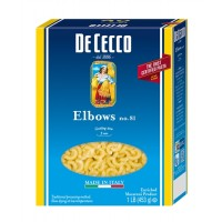 Dececco Pasta Elbows - 1 Lb. (Case of 20)