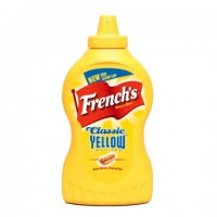 French's Classic Mustard Yellow Squeeze - 14 Oz. (Case of 16)