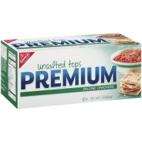 Kraft Premium Saltine Unsalted Cracker - 16 oz