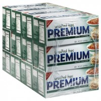 Kraft Premium Saltine Unsalted Cracker - 16 oz (Case of 12)