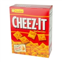 Cheez-It, Baked Snack Cheese Crackers - 4.5 oz box (Case of 12)