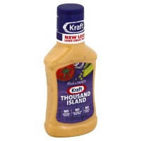 Kraft Thousand Island Dressing - 8 fl.oz. (Case of 9)