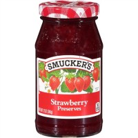 Smuckers Strawberry Preserves - 12 Oz. (Case of 12)
