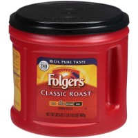 Folgers Classic Roast Ground Coffee - 50.5 Oz. (Case of 6)