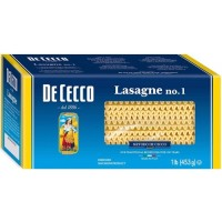 Dececco Enriched Lasagne Noodles - 1 Lb. (Case of 12)