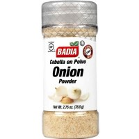 Badia Onion Powder - 2.75 oz (Case of 12)