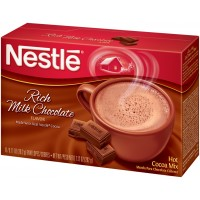 Nestle Hot Cocoa Rich Milk Chocolate Beverage Mix - 0.71 Oz. (6 Packets Per Box) - 1 Box