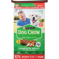 Purina Dog Chow Complete Adult Dry Dog Food(57 lbs.)- 20 bags Per PALLET