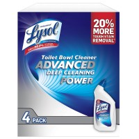 Lysol Advanced Toilet Bowl Cleaner - 32 oz. (Pack of 4)