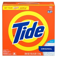Tide HE Ultra, 180 loads Powder Laundry Detergent - 254 Oz