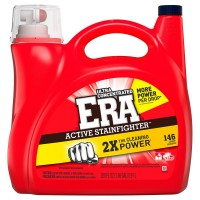 Era 2x Ultra Active Stainfighter Formula Regular Liquid Detergent - 200 oz