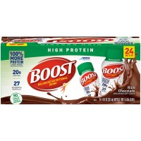 BOOST High Protein Nutritional Drink, Chocolate - 8 fl.oz. (Case of 24)