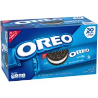 Nabisco Oreo Chocolate Sandwich Cookies - 2.4 oz. (Box of 30)
