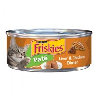 Purina Friskies Pate Liver & Chicken Dinner Wet Cat Food - 5.5 oz.