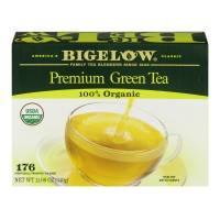 Bigelow Organic Green Tea Bags, 176 Count (Pack of 1)