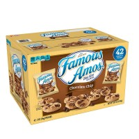 Famous Amos Chocolate Chip Cookies - 2 oz. (Box of 42)