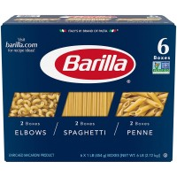 Barilla Pasta Variety Pack - 16 oz (Pack of 6)