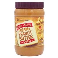 Member's Mark Natural No Stir Creamy Peanut Butter Spread - 40 oz.