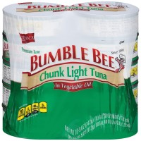 Bumble Bee Chunk Light Tuna in Oil - 5 oz can (Pack of 10)