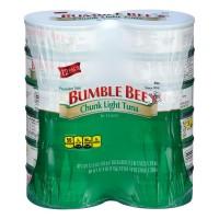 Bumble Bee Chunk Light Tuna in Water - 5 oz can (Pack of 12)