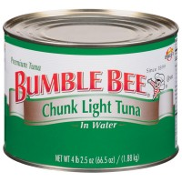 Bumble Bee Chunk Light Tuna in Water - 66.5 oz can